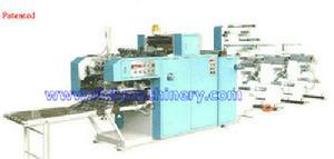 security envelope pin mailer gluing collating machine