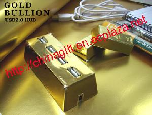 gold bullion usb 2 0 hubs