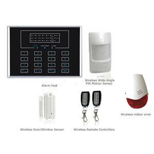 home burglar alarm system sistem keselamatan wireless