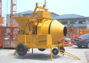 500litre concrete mixer sliding hopper diesel