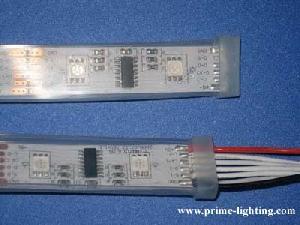 factory wholesale waterproof programmable rgb led flexible strip lights dc5v