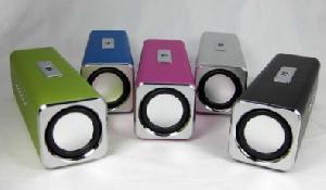 colorful music angel mini speaker box