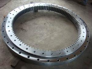 Four Point Contact Ball Slewing Bearings For Excavators-thb Bearings