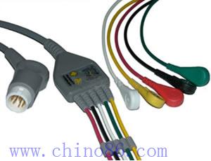 mindray moneda cinco cable ecg de plomo leadwire