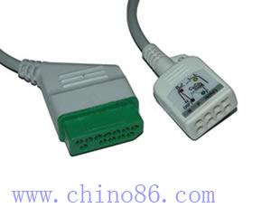 nihon kohden jc 906p seis derivaciones del ecg cable troncal