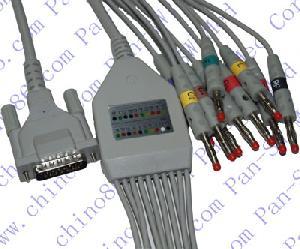 schiller de una sola pieza 10 del cable plomo y derivaciones