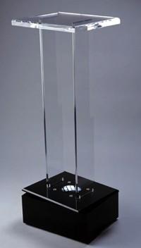 plexiglass pedestal acrylic art holder