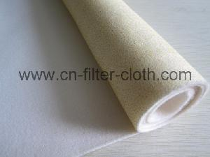 acrylic middle temperature hydrolyze resistant needle punched felt filter