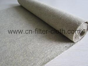 fms temperature resistant needle punched felt filter
