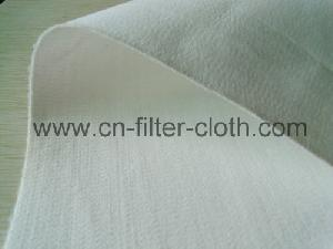 pet needle punched felt filter surface singed treatment