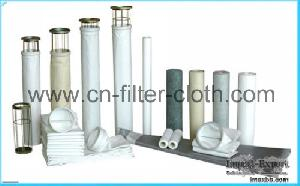 surface dedusting treatment needle punched felt filter