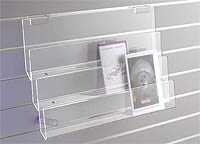3 tier acrylic greeting card display rack