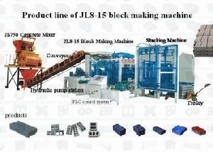 hydraulic concrete block machinery