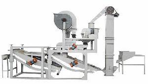 oat hulling machine