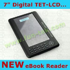 7 ebook reader ereader c paper 400mhz tft lcd fm mp4 1gb 16g pink b
