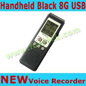 sn p320 handheld digital voice recorder audio stereo dvr dictaphone mp3