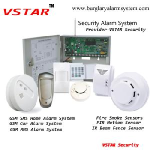 16 hardwired zones building security alarm systems