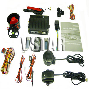 gsm auto car theft deterrent alarm systems sim card sms