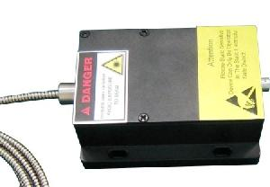 455nm coaxial pigtailed fiber coupled diode laser module system sm mm pm