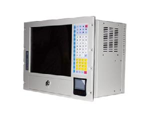 rack mount 15 inches industrial lcd pc workstation iec 855