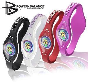power silicone balance bracelet hologram