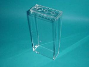 acrylic box perforated lid