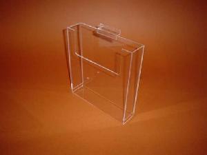 acrylic slatwall brochure holder