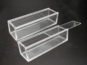 lucite acrylic box
