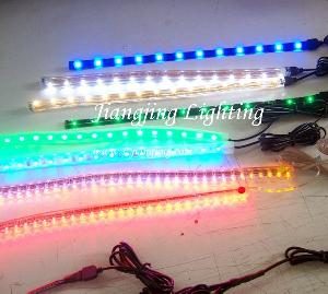 24 led strip car grill lamp flexible light uv bar