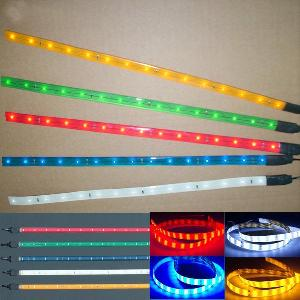 30 smd led flexible strip waterproof car light