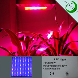 led grow light harvest colors 45w edition