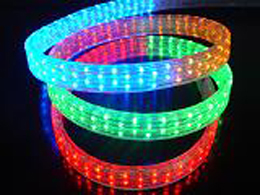 led rope light 5 wires flat holiday