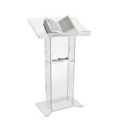 floor standing acrylic lectern