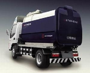 refuse collector garbage vehicle