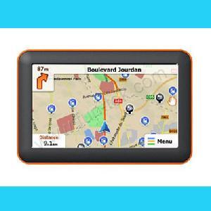 5inch car gps navigation receiver navigator fm map dhy 050e