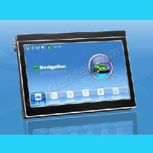 bluetooth 2g map 5inch tft lcd car gps navigation receiver navigator tracker video mp3