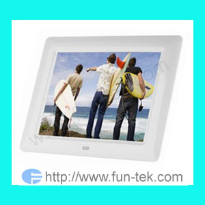 multi 8 digital photo frame picture dpf electronic album fun tek