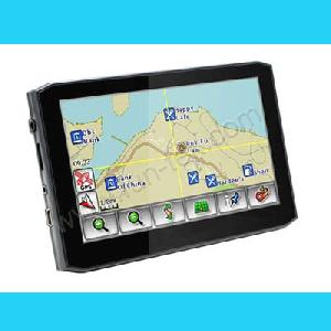 5inch tft lcd 468mhz car gps navigation receiver navigator guide dhy 050n