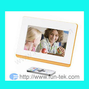 7inch digital photo frame picture dpf electronic album rotate slide play