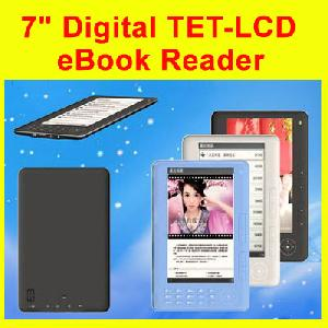 7inch digital tet lcd ebook reader ereader mp4 fm 1gb 16gb pink blue c paper 4