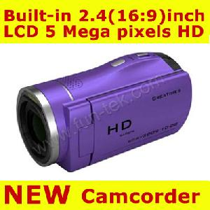 purple 8gb 2 4 tft lcd stk 5mp 4xzoom hd digital video camcorder camera dv