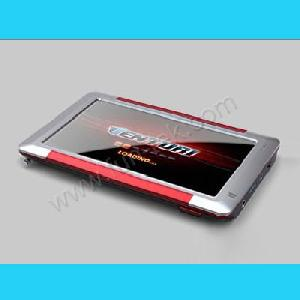 portable 5inch tft lcd gps navigation receiver navigator tracker video dhy 050h