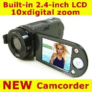 2 4 tft lcd sq 5mp 4xzoom hd digital video camcorder camera dv 8gb odm