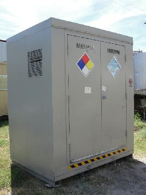 chemical storage locker