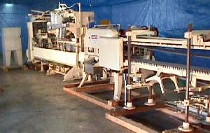 flowing dry filling line