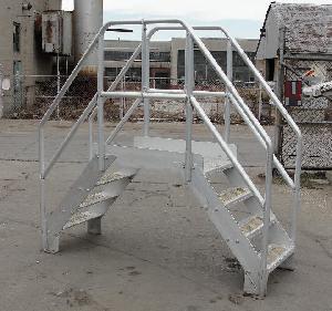 safety cross ladder