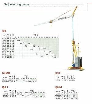 potain erecting tower crane