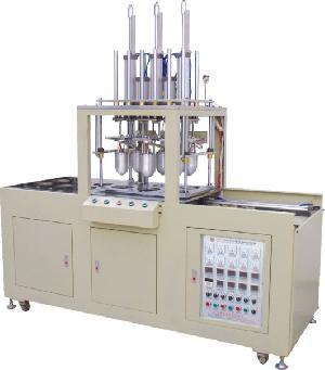 kv 168d f2 six bullet moulds fabric cup molding machine