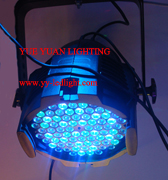 power led par cans 84x3watt rgbwa 5 colors