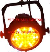 outdoor led par 64 light 60x3watt rgbwa 5 colors